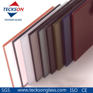 6.38mm Euro Grey Safety Laminated Glass for Building pictures & photos
