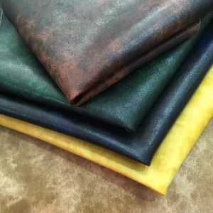 Vintage PVC PU Synthetic Leather for KTV Furniture