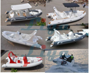 Liya 10 People Rib Boat Rigid Inflatable Boat Factory pictures & photos