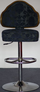 Popular Rotary Casino Poker Gamble Chair with Chromed Base (FS-G111B) pictures & photos