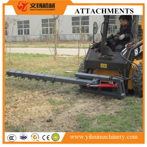Farming Attachment Landscape Rake Attachments for Skid Steer Loader pictures & photos