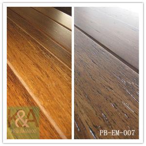Embossed Strand Woven Bamboo Flooring (PB-EM-007)