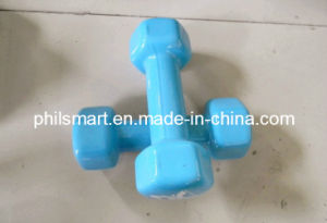 Exercise Rubber Dumbbells pictures & photos