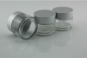 100g Glass Cream Jar for Cosmetics Packaging Ufig-100-025 100ml