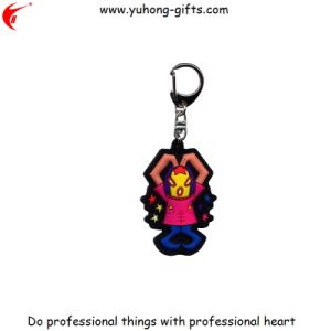 3D Soft PVC Key Chain Cartoon Keyring (YH-KC017) pictures & photos
