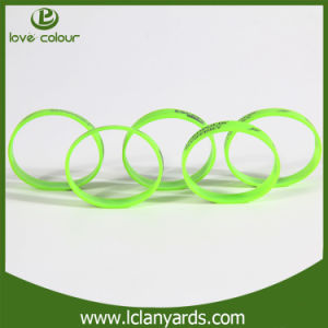Charms fashion Band Custom Silicone Rubber Bracelet