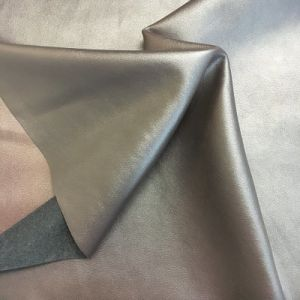 Soft Lining Material Synthetic PU Leather for Shoes, Garment (HS-D05) pictures & photos