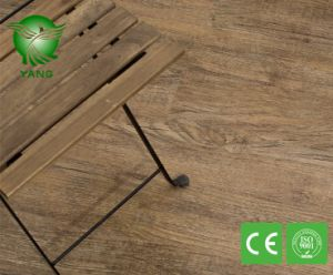 Wooden Healthy Luxury Lvt Click Flooring Planks with Fiberglass Non Toxic