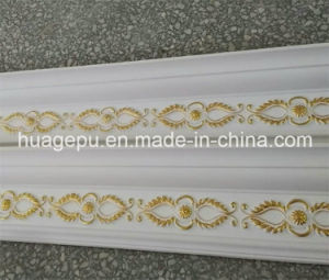 High Quality Polyurethane PU Carving Ceiling Cornice Moulding pictures & photos