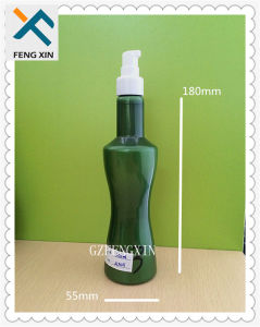Plastic Material and Industrial Use Best Design Pet Shower Cream Bottle pictures & photos