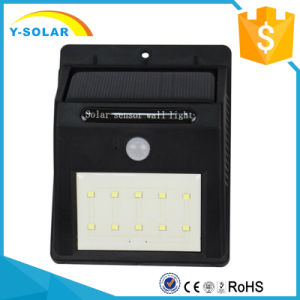 10 Bright LED Wireless Solar Powered Motion Sensor Outdoor Weatherproof Light SL1-38-10 pictures & photos