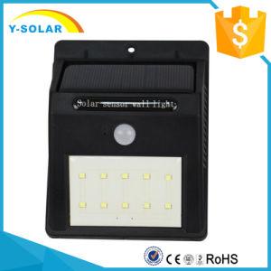 10-LED Solar LED Light Motion Sensor Outdoor Weatherproof Light SL1-38-10 pictures & photos