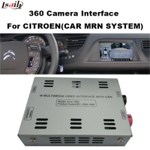 Rear View & 360 Panorama Interface for Citroen C4 C5 C3-Xr with Mrn & Smeg+ System Lvds RGB Signal Input Cast Screen pictures & photos