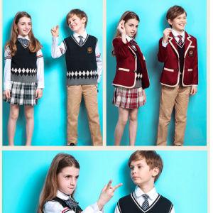 International School Design School Uniform for Kids of Cotton pictures & photos