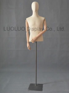 New Male Dummy with Linen Wrapped