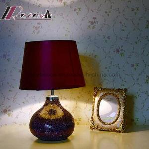 European Hotel Decorative Purple Ceramic Desk Lamp Table Lamp pictures & photos