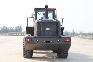 Chinese Front End Loader Ensign 6 Ton Wheel Loader Yx667 with Joystick pictures & photos