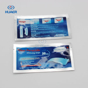 Free Peroxide Charcoal Carbon Teeth Whitening Strips for 2 Weeks pictures & photos