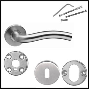Ss Finish Ss304 Material Stainless Steel Internal/ External Door Handle pictures & photos