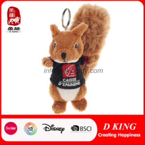 Cute Promotion Toy Squirrel Stuffed Animal Plush Keychain Toy pictures & photos