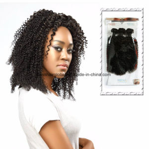 Brazilian Virgin Hair Baby Deep Curl Natural Color 3 Pieces in One Pack pictures & photos