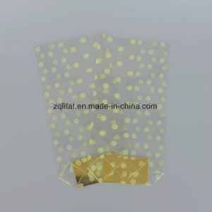 Transparent BOPP Poly Plastic Bag with with Hard Bottom Card pictures & photos