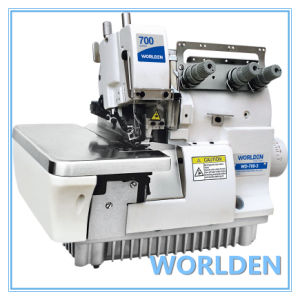 Wd-700-3 High Speed Three Thread Overlock Sewing Machine pictures & photos