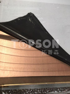 201 304 Color Stainless Steel Sheet with 8k Hairline Satin Etched Embossed Finish pictures & photos