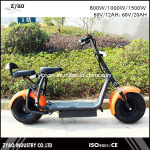 City Coco 1000W Brushless Adult Electric Scooter 2 Wheels Harley Electric Scooter pictures & photos