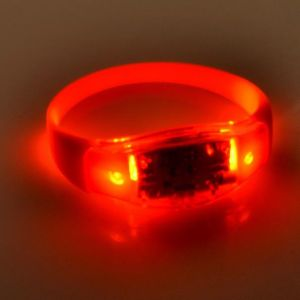 RFID smart silicone LED wristband bracelet for promotion and event pictures & photos