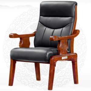 Solid Wooden Reception Conference Waiting Visitor Chair (HX-CF001) pictures & photos