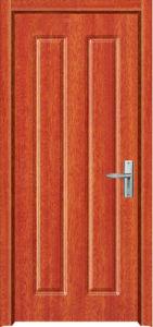 Interior Wooden Door with MDF and PVC (PVC door) pictures & photos