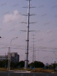 Angle Steel Frame Electric Transmission Tower
