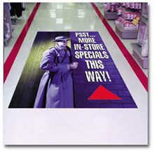 Custom Full Colors Apparel Stair Graphics and Floor Posters Stickers pictures & photos