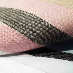 Dyed Jacquard Cotton Linen Fabric for Woman Dress Skirt Coat Children pictures & photos