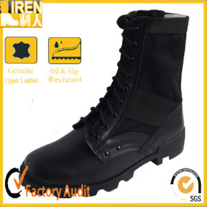 Classical Military Black Jungle Boots pictures & photos