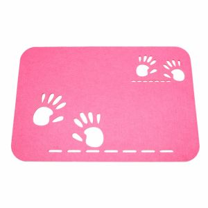 3mm & 5mm Colorful Felt Placemat for Tabletop and Holiday Decorations pictures & photos