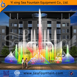 Waterproof LED Light Stainless Steel Dry Fountain pictures & photos