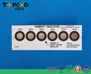 Topcod Humidity Indicator Hic Sensor Card pictures & photos