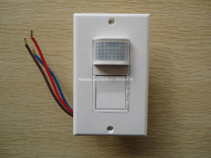 86 Type Wall Flush Mount PIR Motion Sensor Switch pictures & photos