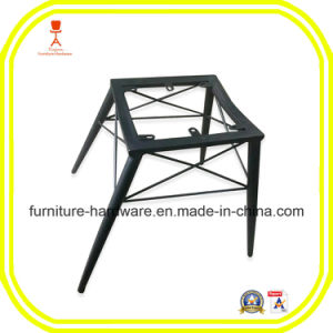Iron Sheet Hotel Restaurant Banquet Dining Stool Black pictures & photos