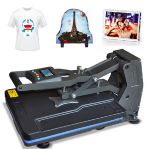 Automatic Drawer Type T-Shirt Sublimation Heat Transfer Printing Machine St-4050 pictures & photos