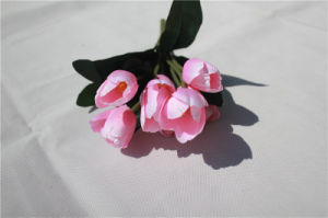 Silk Artificial Tulip Flowers for Wedding Table Centerpieces pictures & photos