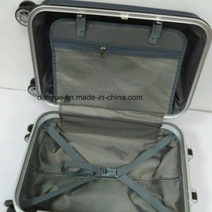 """Low MOQ PC Material 20""""24""""28"""" Aluminum Frame Rolling Luggage Suitcase Bag, Customized Trolley Case for Travel pictures & photos"""