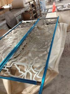 Stainless Steel Furniture Metal Screen, Wall Decorative Panel pictures & photos