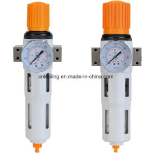 1/4 Inch Mini Aluminum Material Klhfr Pneumatic Air Filter Regulator pictures & photos