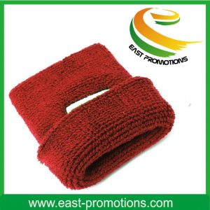 Embroidery Cotton Wholesale Terry Sports Sweatbands pictures & photos