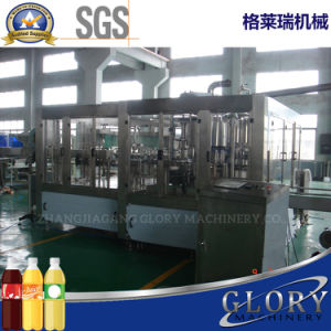 Bottle Juice Machine with Filling Capping pictures & photos