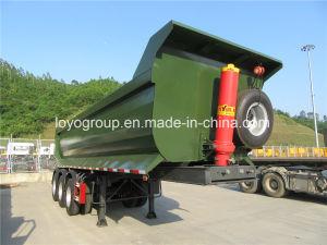 3 Axle Dump Semi Trailer U Type 54 M 3 pictures & photos