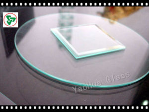3-19mm Flat/Bent Clear Tempered Glass Table with ISO, CCC, Csi Certified pictures & photos